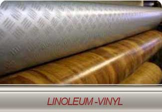 We carry a large selection of linoleum styles and colours.